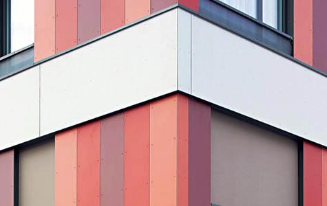 Gerber Holzbau Bern AG, Hinterlüftete Fassaden