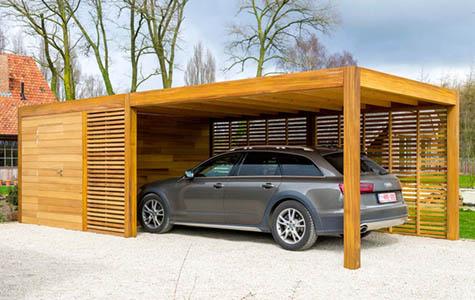 Burren Holzbau, Terrassenüberdachung Holz, Carport Holz